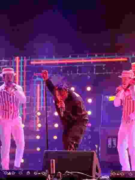 15.abr.2016 - O rapper A$AP Rocky se apresenta no primeiro dia do Coachella Festival, em Indio, Califórnia - Getty Images