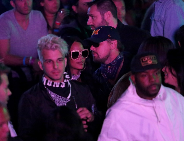 Rihanna e Leonardo DiCpario são flagrados em festa pós-Coachella - Jesse Grant/GettyImages