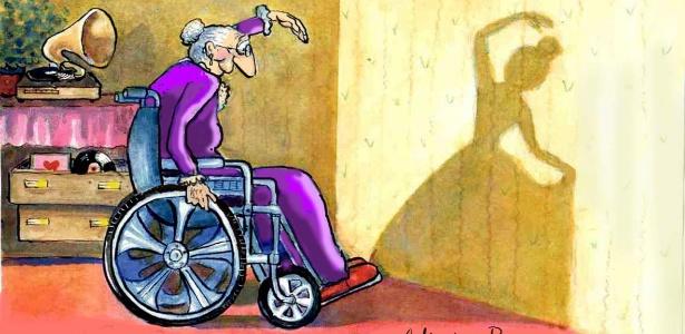 Desenho da cartunista argentina Ana von Rebeur, que estará na abertura do evento - Divulgação
