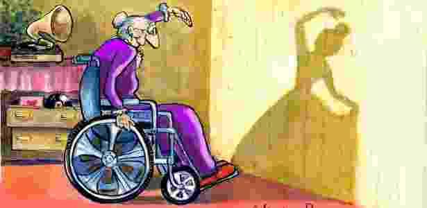 Desenho da cartunista argentina Ana von Rebeur - Divulgação - Divulgação