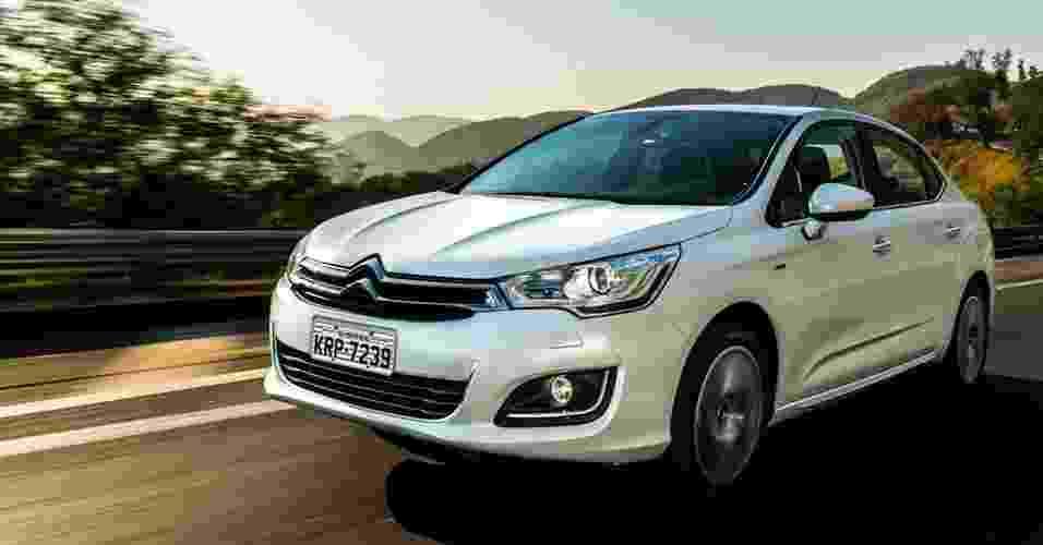 Citroën C4 Lounge 2017  - Divulgação
