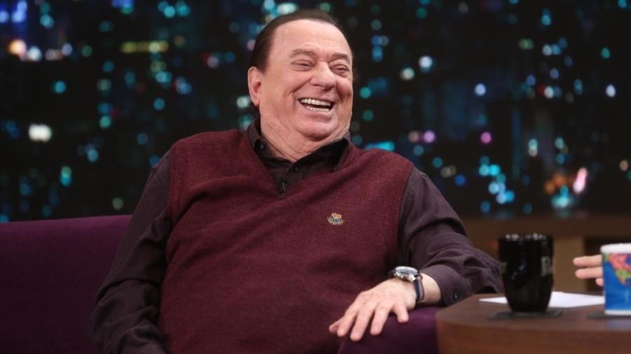 """Raul Gil participa do """"Programa do Porchat"""" e conta como quase saiu do SBT no fim do ano passado - Antonio Chahestian/Record TV"""