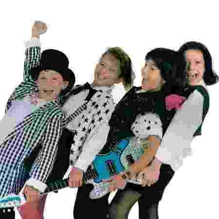 O grupo Trem da Alegria teve, em certa época, Juninho Bill, Vanessa, Luciano e Patrícia Marx - Divulgação