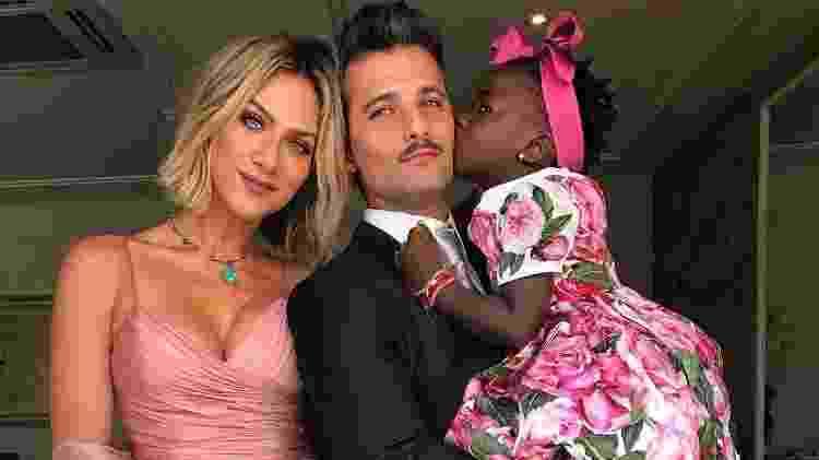 Giovanna Ewbank, Bruno Gagliasso e sua filha Titi - Reprodução/Instagram - Reprodução/Instagram