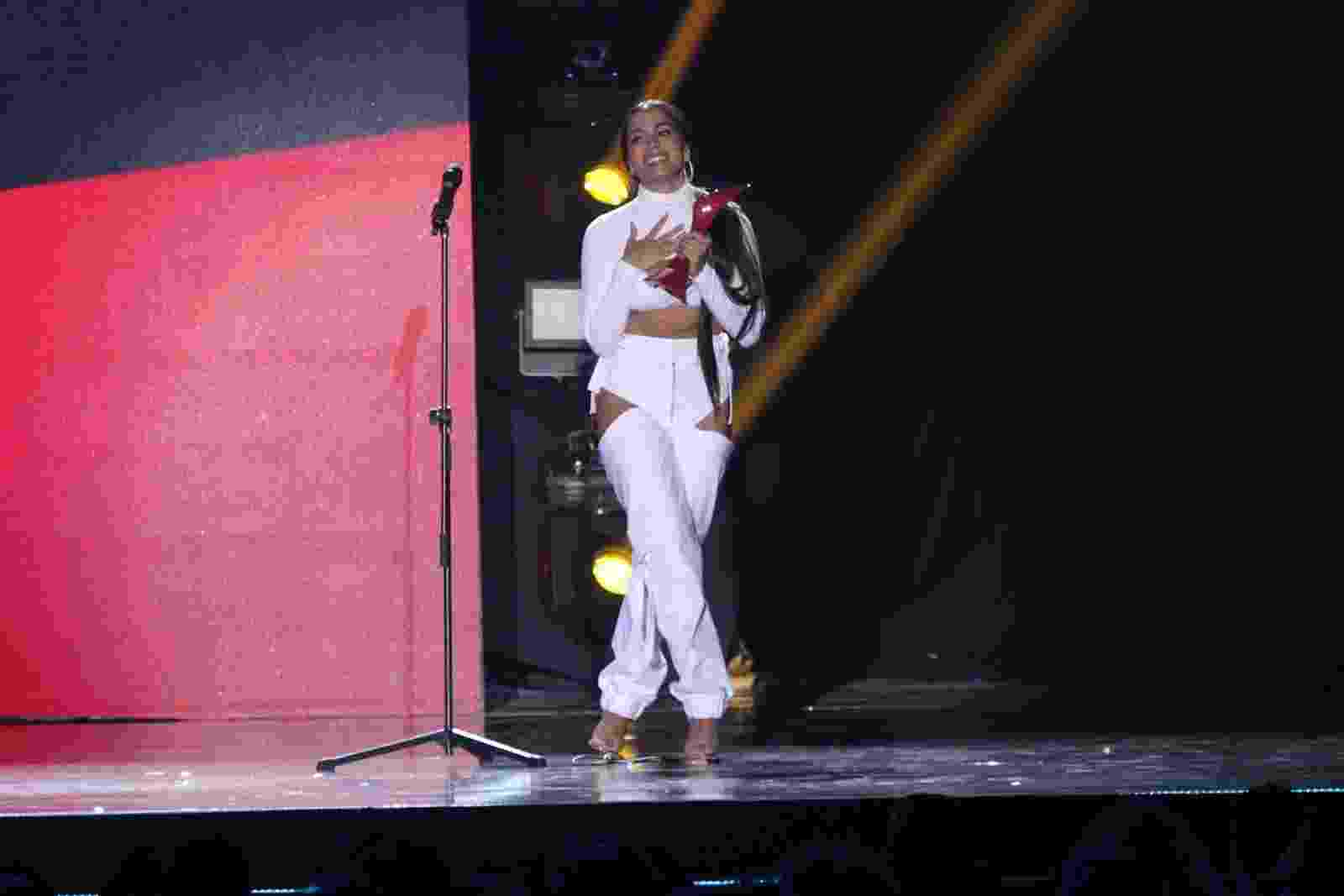 Anitta foi a grande vencedora do Prêmio Multishow - AgNews