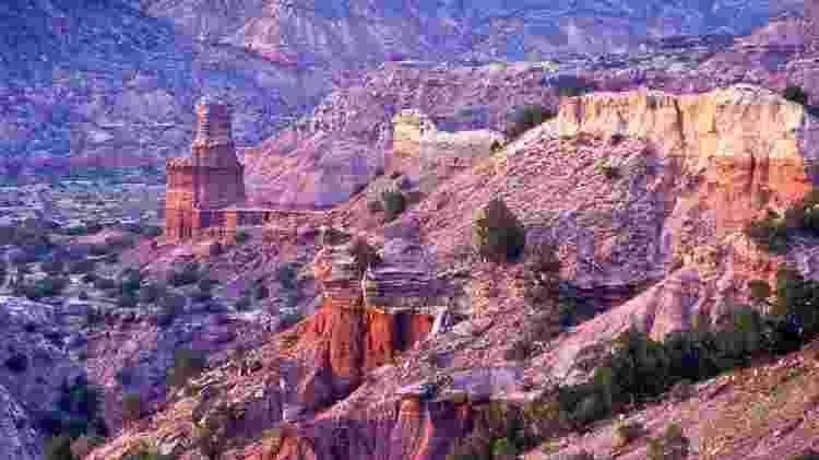 Palo Duro Canyon, nos Estados Unidos - Divulgação/Texas Tourism - Divulgação/Texas Tourism