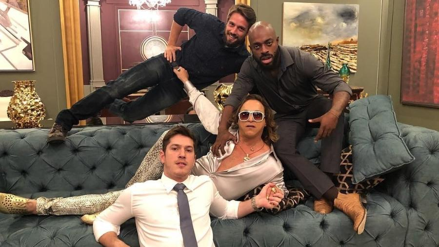 Renato (Rafael Cardoso), Radu ( Thiago Tomé), Nick (Fábio Lago) e Bruno (Caio Paduan) - Reprodução/Instagram