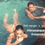 Bruna Marquezine e Neymar curtem passeio em Fernando de Noronha - Reprodução/Instagram