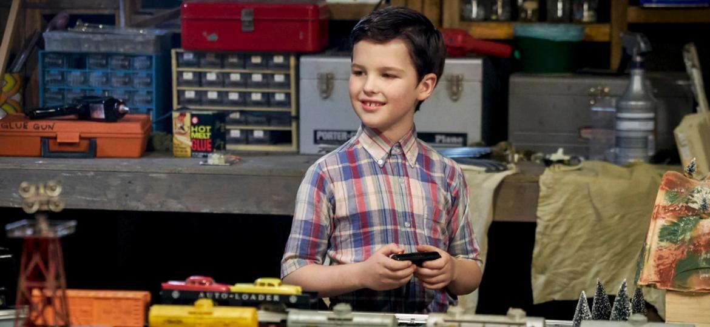 """Iain Armitage é o pequeno Sheldon Cooper em """"Young Sheldon"""", spin-off de """"The Big Bang Theory"""" - Divulgação"""