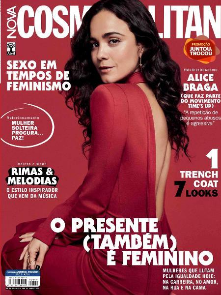 Alice Braga na Cosmopolitan de março - Gil Inoue_bx2