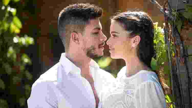 O Outro Lado do Paraíso - Diego e Melissa - TV Globo/Divulgação - TV Globo/Divulgação