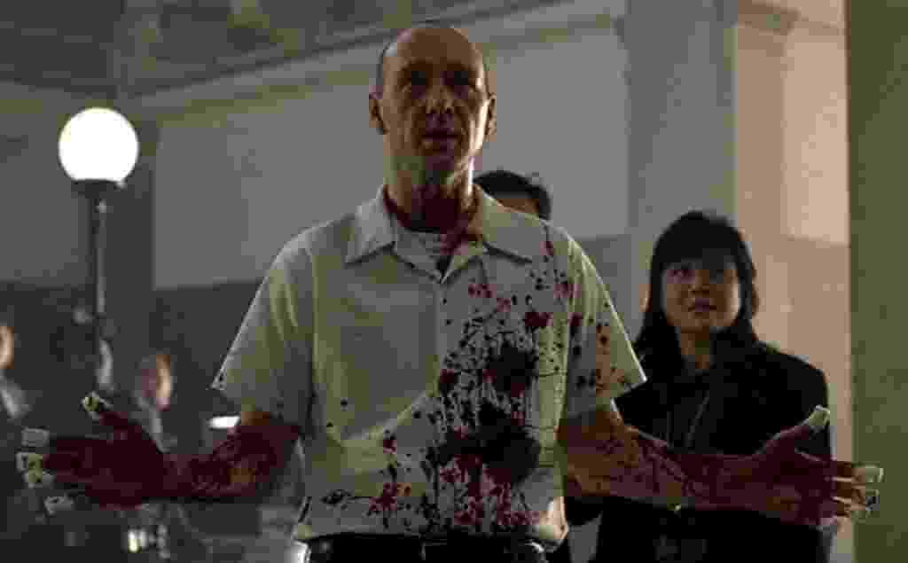 """Kevin Spacey em cena de """"Se7en - Os Sete Crimes Capitais"""" (1995) - Divulgação"""