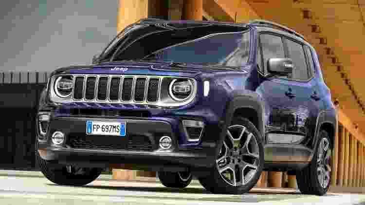 Jeep Renegade Europa - Divulgação - Divulgação