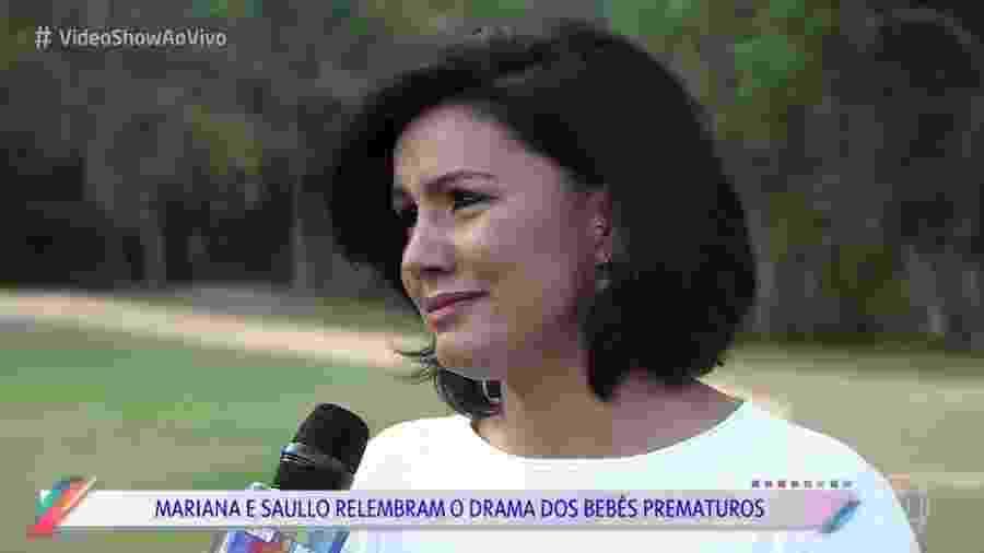 Ex-BBB Mariana Felício relembra drama de gêmeos prematuros na UTI - Reprodução/TV Globo