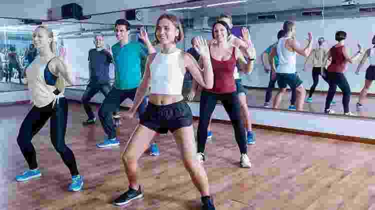 dançar, aula de dança, música, exercício em grupo, treino - iStock - iStock