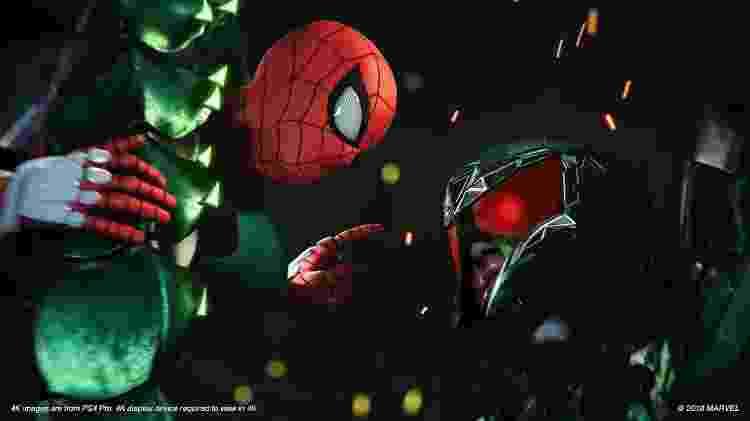 Um dos vilões de Spider-Man (PS4) - Divulgação - Divulgação