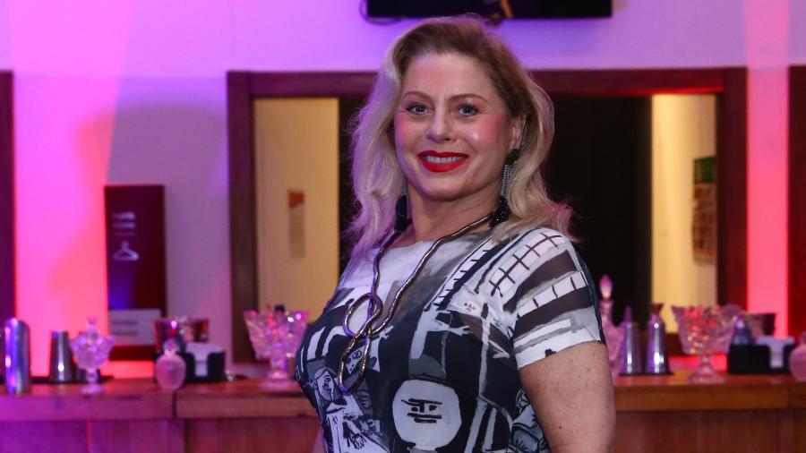"""Vera Fischer vai à estreia do musical """"O Frenético Dancin"""" Days"""" - Roberto Filho/Brazil News"""