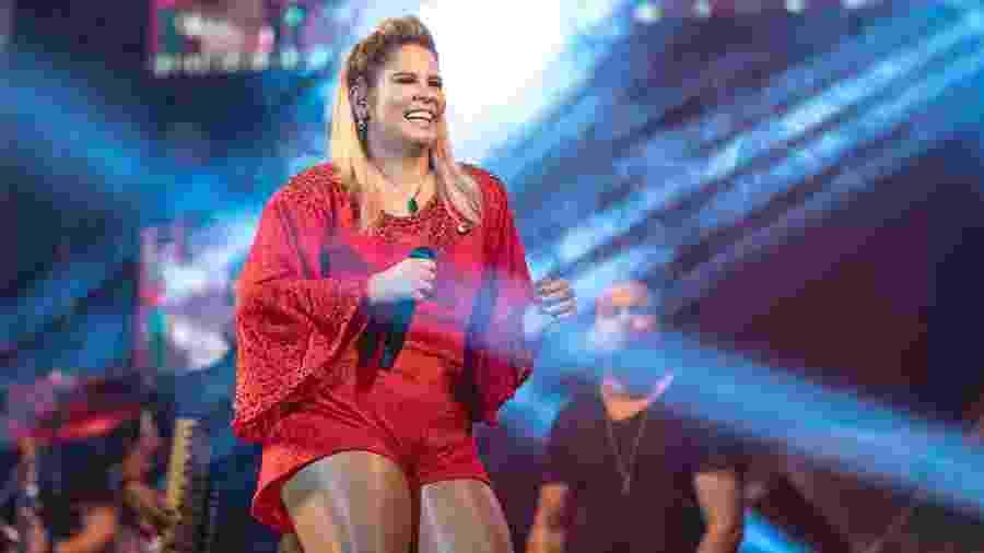 A cantora Marília Mendonça vai apresentar canções inéditas na transmissão ao vivo - Divulgação