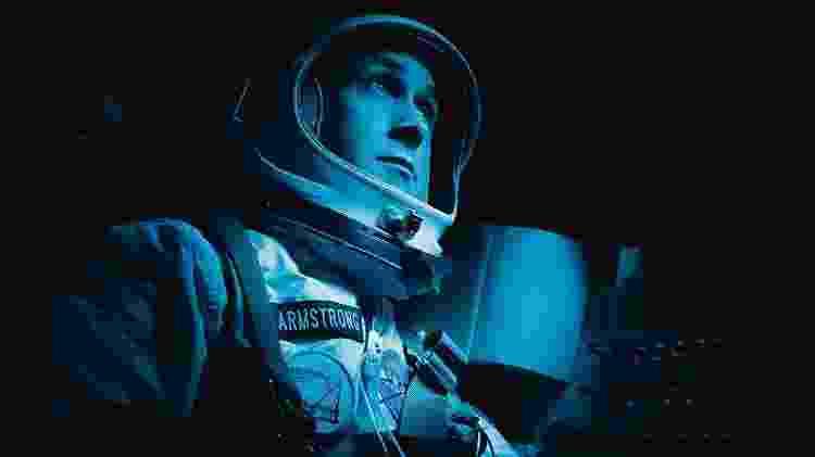 "Ryan Gosling como Neil Armstrong em cena de ""O Primeiro Homem"" - Daniel McFadden/Universal - Daniel McFadden/Universal"
