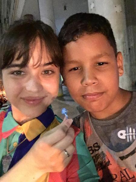 Bela Piero passa Natal com moradores de rua no Rio - Reprodução/Instagram