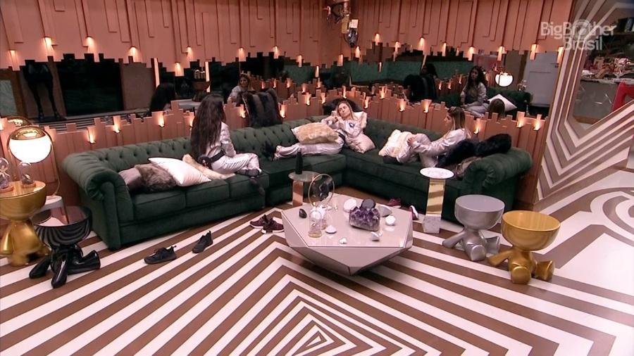 Sisters conversam sobre votação - Reprodução/TvGlobo