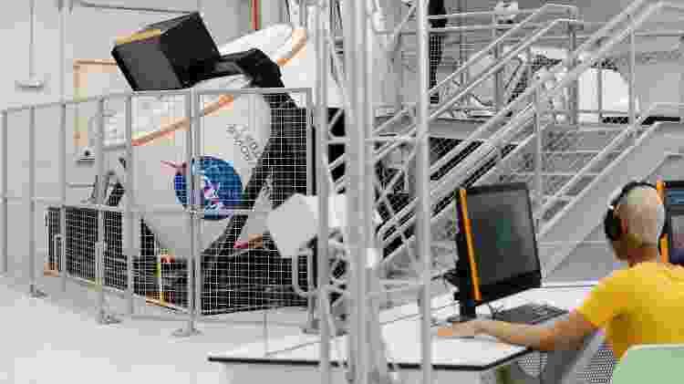 O Kennedy Space Visitor Complex tem simulador de viagem marciana - Divulgação/Kennedy Space Center - Divulgação/Kennedy Space Center