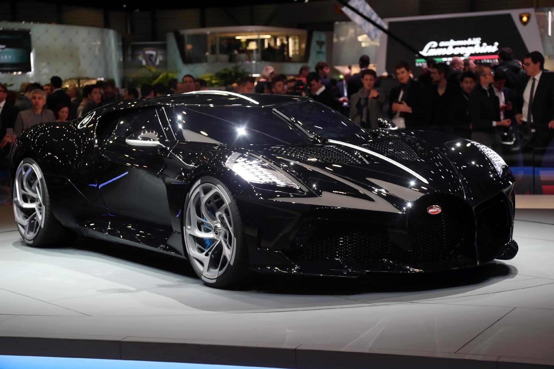 0b3dd17633a8 Bugatti La Voiture Noire, carro mais caro do mundo, já tem dono