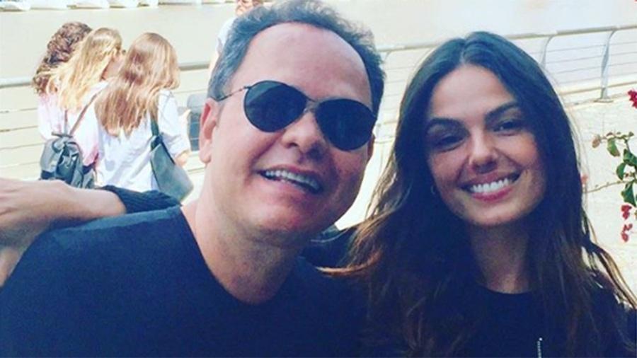 O empresário Marcio Damasceno e Isis Valverde - Reprodução/Instagram