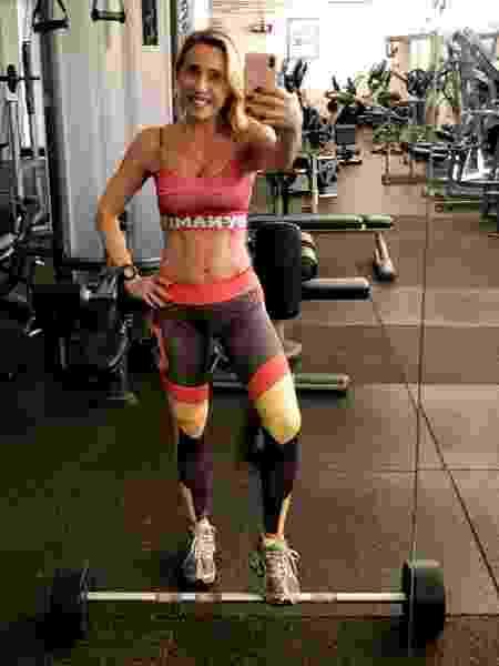 Musculação, boa alimentação e descanso são os pilares da Adriana Miranda para ganhar músculos - Arquivo pessoal