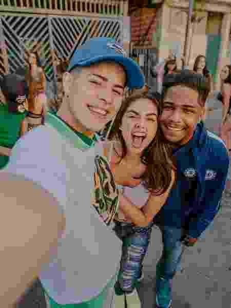 Doni, Rita e Nando em cena de clipe de Sintonia - Reprodução/Instagram