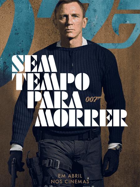 Daniel Craig no cartaz oficial de 007 - Sem Tempo Para Morrer - Jessica Quinalha/NBCUniversal