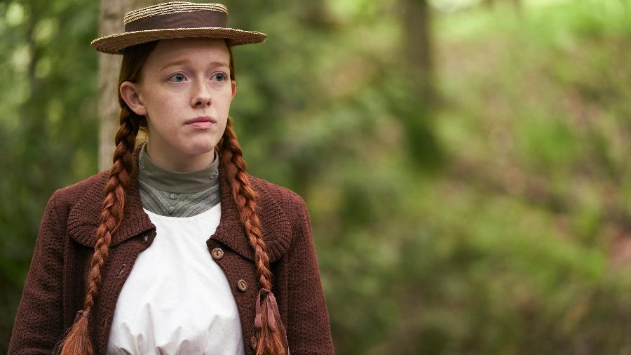 Amybeth McNulty, protagonista da série Anne With An E, em cena da terceira e última temporada - Ken Woroner/Netflix/Ken Woroner/Netflix