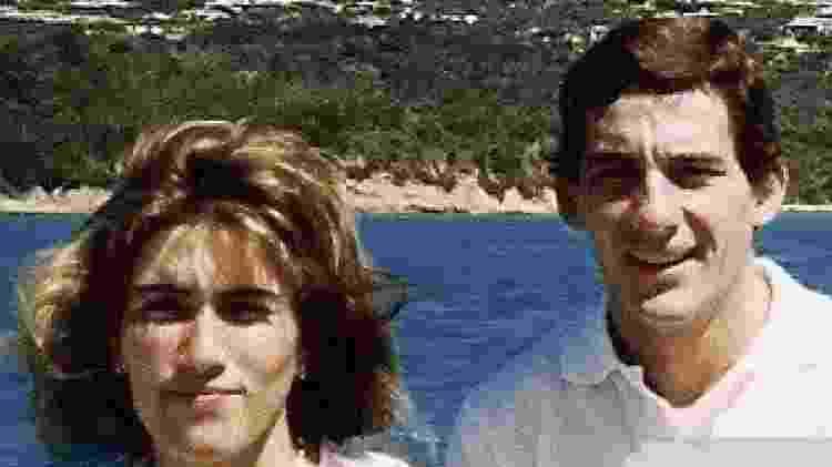 Adriane Yamin e Ayrton Senna - Reprodução/Instagram - Reprodução/Instagram