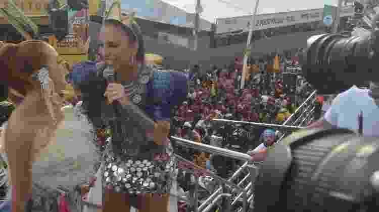 Marina Ruy Barbosa curte trio de Ivete Sangalo - Equipe Fred Pontes