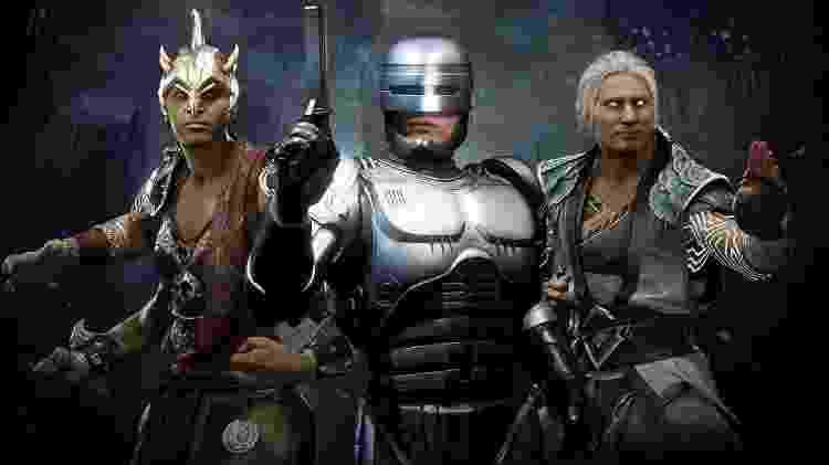 Mortal Kombat 11 Aftermath novos personagens - Reprodução - Reprodução