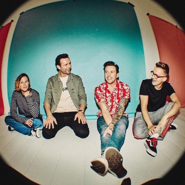 A banda britânica McFly em 2020