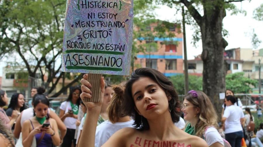 Giullia Jaques, criadora do projeto Absorvidas - Arquivo pessoal