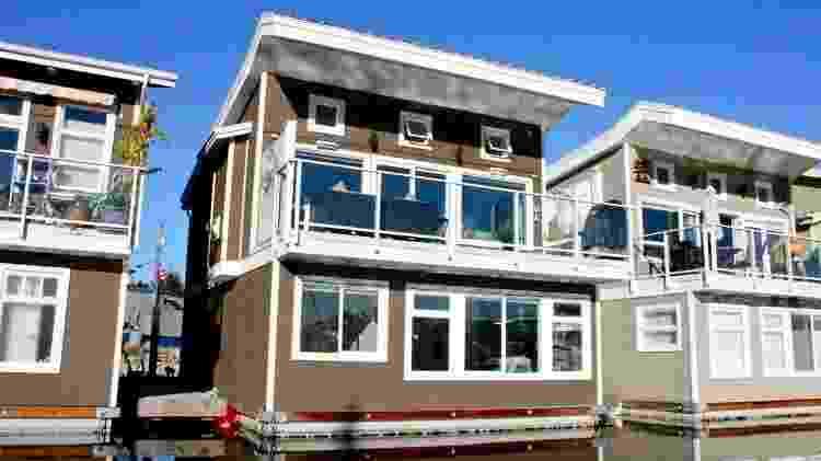 Casa flutuante em Vancouver tem três quartos para até seis pessoas - Divulgação - Divulgação