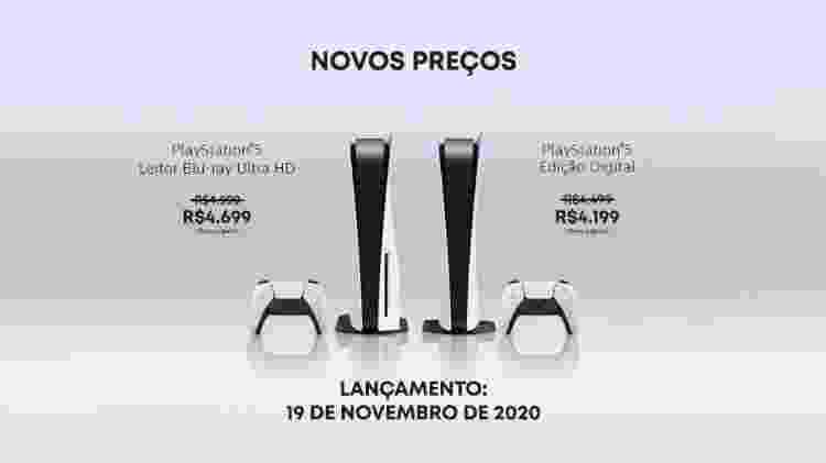 PlayStation 5 redução preço - Divulgação/Sony - Divulgação/Sony