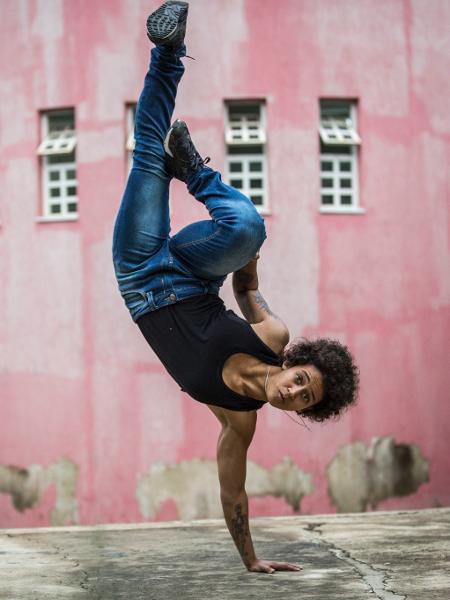 Itsa, que dança breaking - Fabio Piva/Divulgação