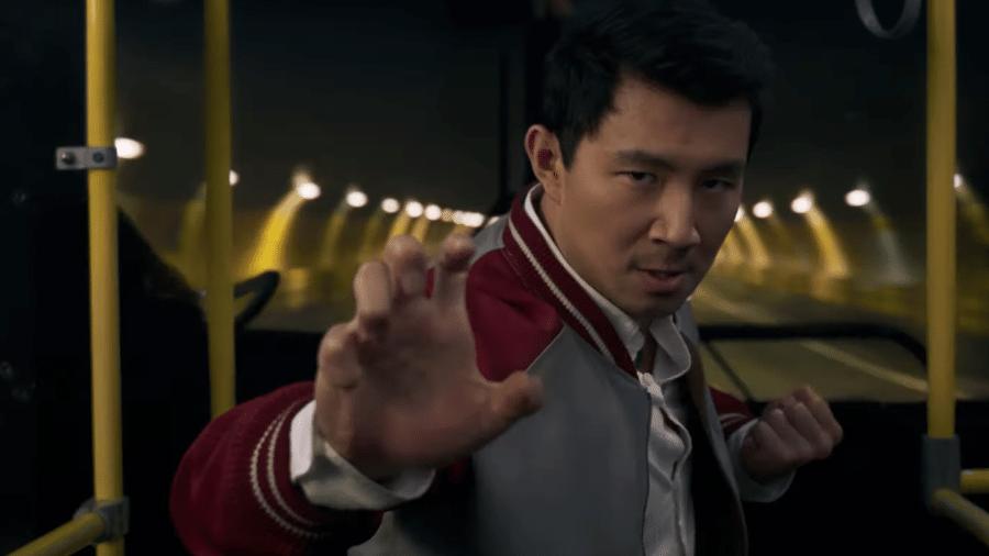 """Cena do trailer de """"Shang-Chi e a Lenda dos Dez Anéis"""" - Reprodução/YouTube"""