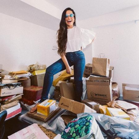 Juliette mostra antigo quarto lotado de presentes dos fãs - Reprodução/Instagram