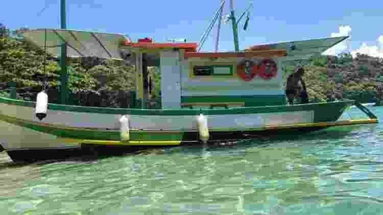 barco angra histórias do mar - Reprodução - Reprodução