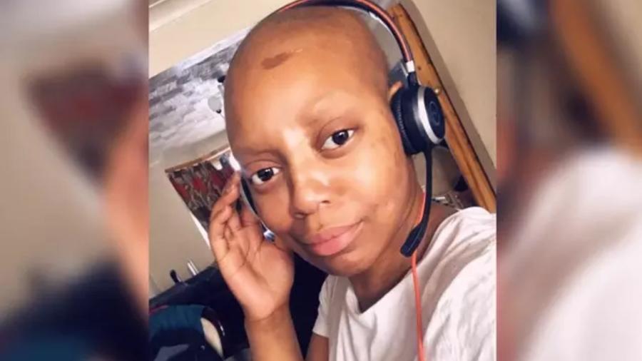 Lucy fez quimioterapia depois de ter sido diagnosticada com câncer de mama - Lucy Lepe/BBC News