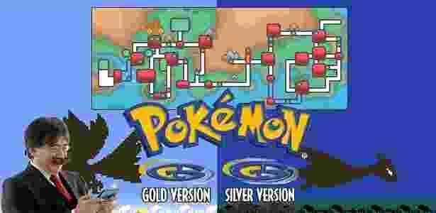 Satoru Iwata (Pokémon) - Montagem/UOL - Montagem/UOL