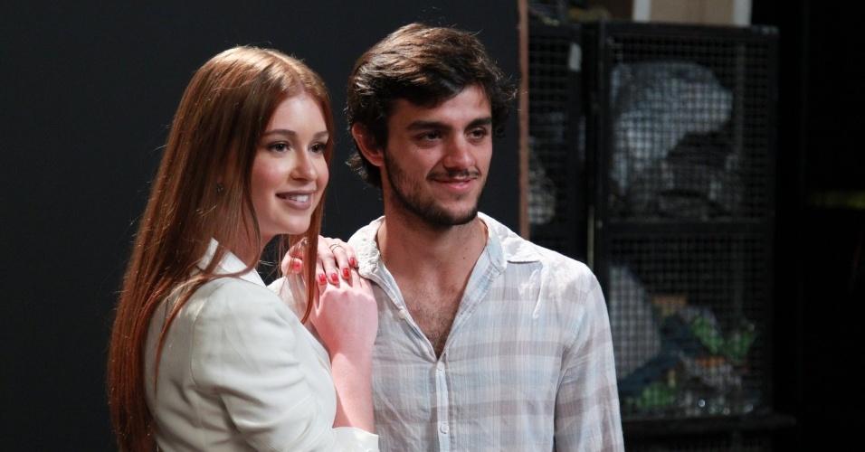 Marina Ruy Barbosa e Felipe Simas vão viver um romance na novela