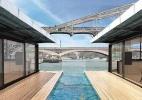 Rio Sena, em Paris, pode ganhar hotel flutuante em 2016 - Divulgação/Off-Paris Seine