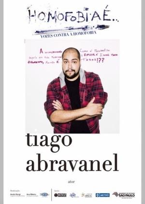 Tiago Abravanel relembra campanha contra a homofobia - Reprodução /Instagram /tiagoabravanel