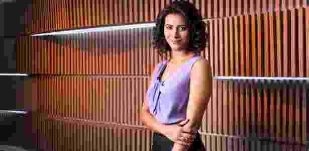 Aline Midlej na GloboNews - Ramon Vasconcelos/Rede Globo - Ramon Vasconcelos/Rede Globo