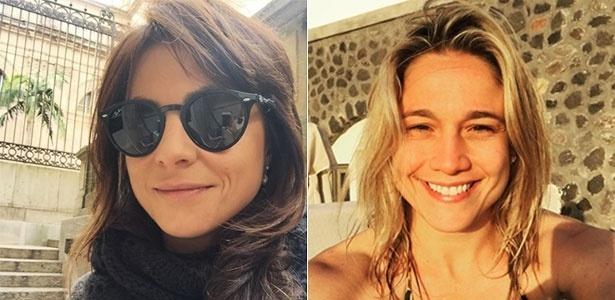 A jornalista Priscila Montandon (à esq.) é a nova namorada de Fernanda Gentil - Instagram/Reprodução